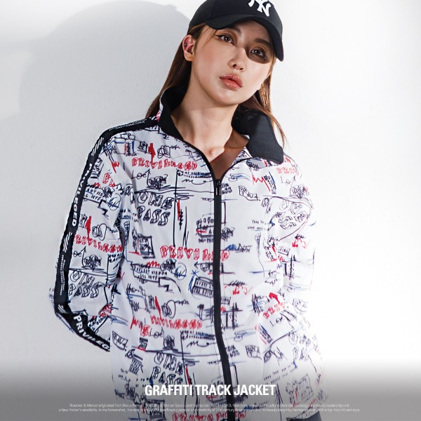 [BJ0578] GRAFFITI TRACK JACKET