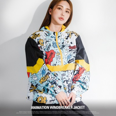 [S51051] ANIMATION WINDBREAKER JACKET