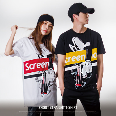 [S11908] SHOOT STRAIGHT T-SHIRT