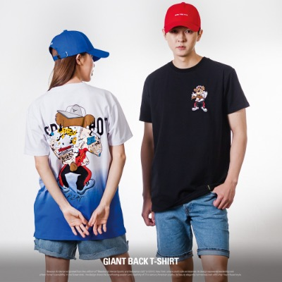 [S11059] GIANT BACK T-SHIRT