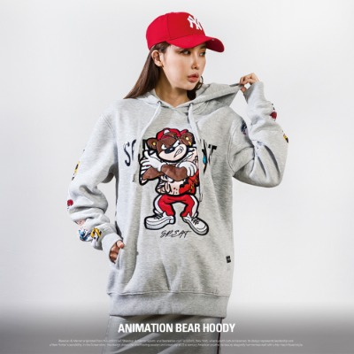 [H11059] ANIMATION BEAR HOODY