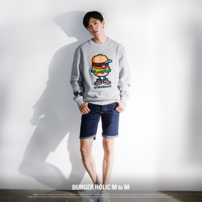 [F11064] BURGER HOLIC M to M
