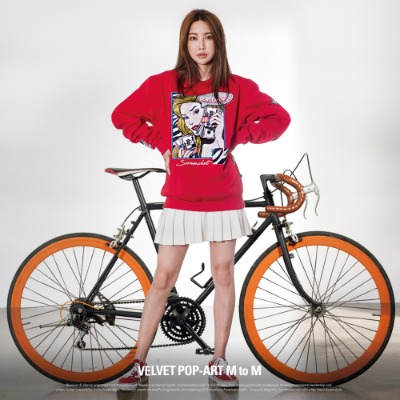 [F11057] VELVET POP-ART M to M