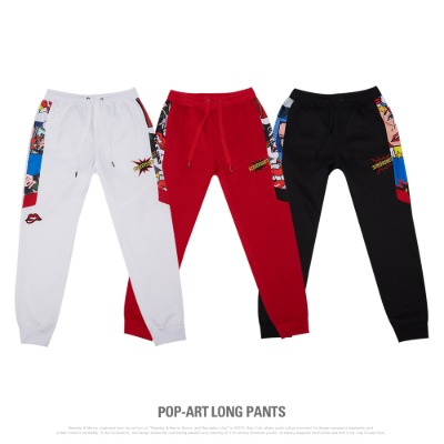 [P11062]POP-ART LONG PANTS