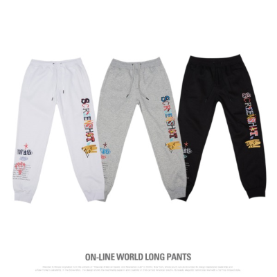 [P11053]ON-LINE WORLD LONG PANTS